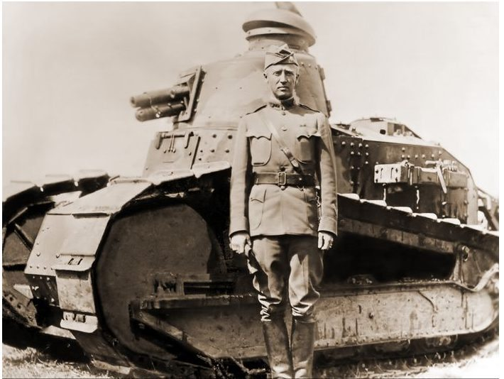 George S Patton Tank