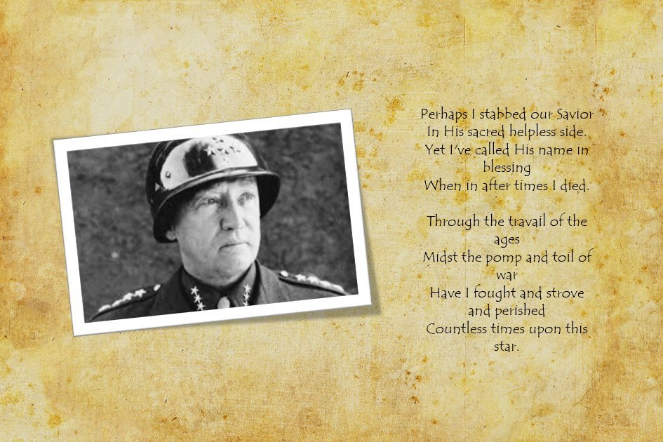 Patton Poem