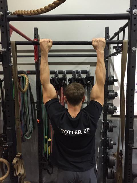 Standard grip - back