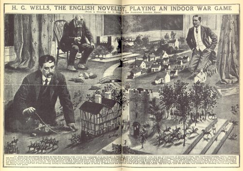 HG Wells Playing Little Wars from the BBC