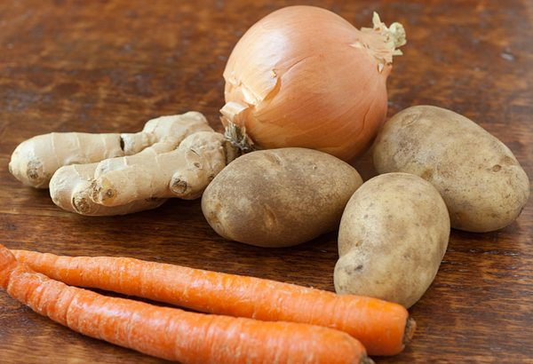 onion-ginger-potatoes-and-carrots