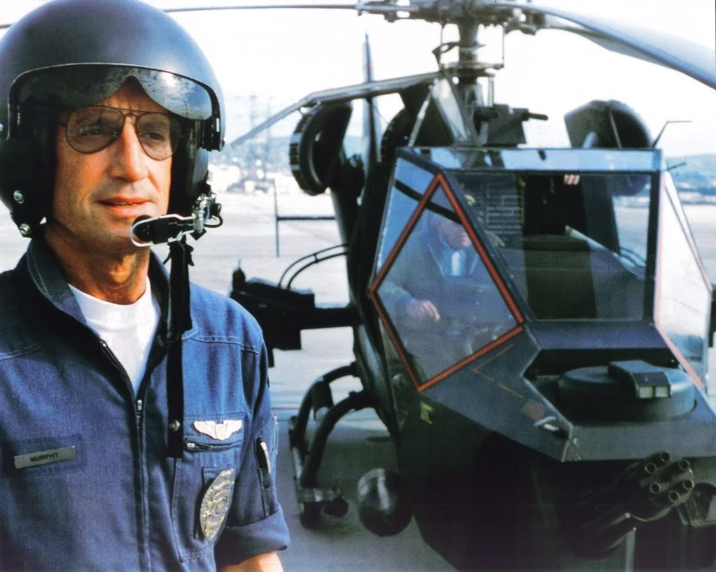 The 1983 Movie Blue Thunder: The cop test pilot for an experimental police helicopter learns the sinister implications of the new vehicle. The 1983 Movie Blue Thunder: The cop test pilot for an experimental police helicopter learns the sinister implications of the new vehicle.