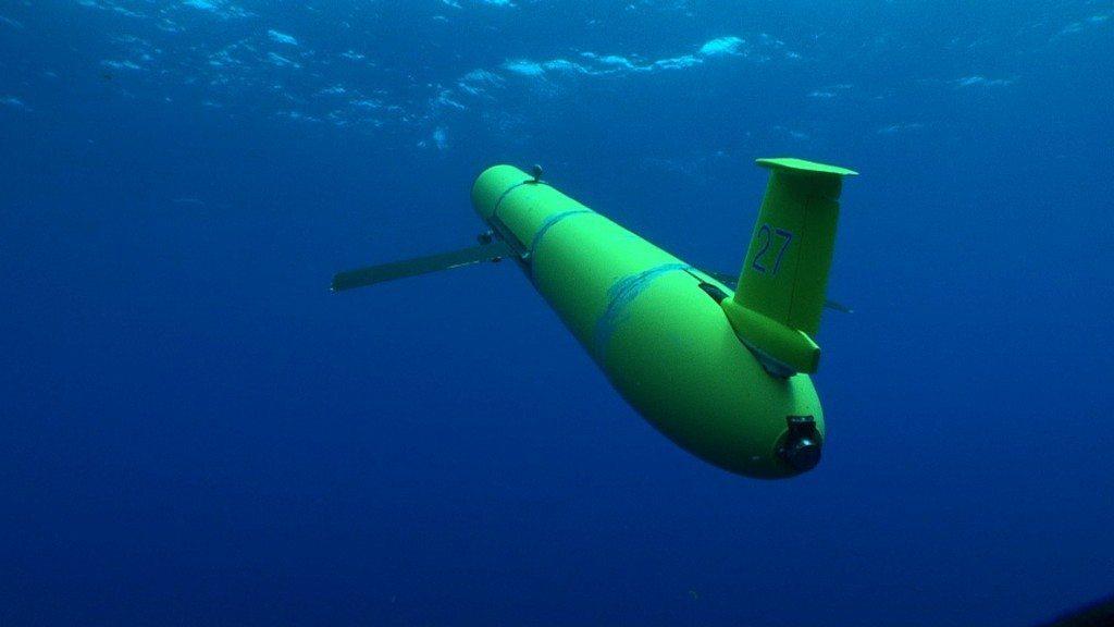 RU27 underwater