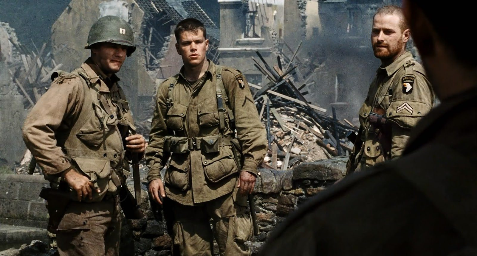 saving private ryan movie review Mr spielberg goes beyond the war movie genre he brings you the war itself  saving private ryan wastes no time on exposition it drops you.