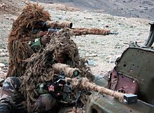 French Foreign Legion snipers using the Hecate II (front) and the FR-F2 (back) in Afghanistan