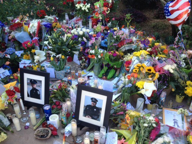 Santa Cruz reels from the death of its officers