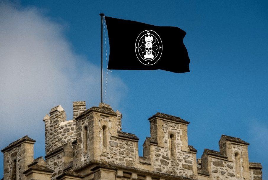 castle-flag