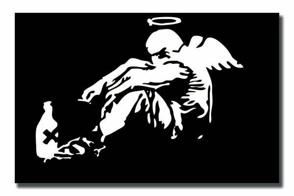 Banksy's Angel