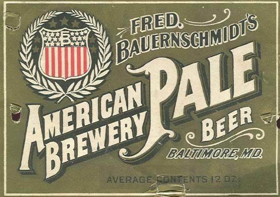 Beer_116_Baltimore_FredBauernschmidtsAmericanBreweryBeer_Label