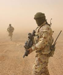 Solider-in-a-Dust-Storm