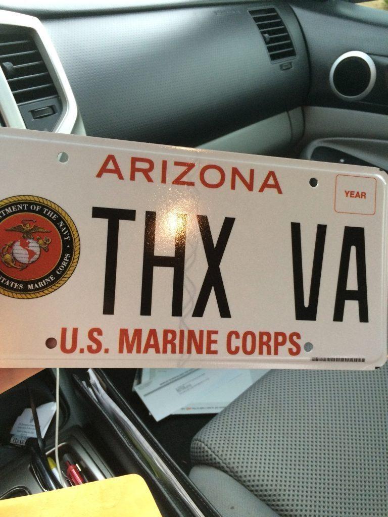 brandon-coleman-thx-va-license-plate