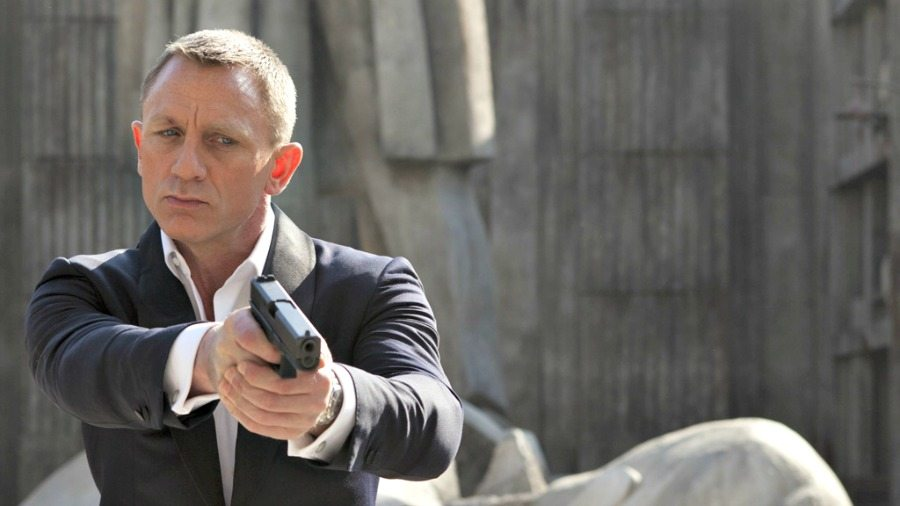 FILM: Skyfall (12A), Director: Sam Mendes, Starring: Daniel Craig, Berenice Marlone, Naomie Harris, Javier Bardem, Ralph Fiennes, Albert Finney, HANDOUT from Sony Pictures