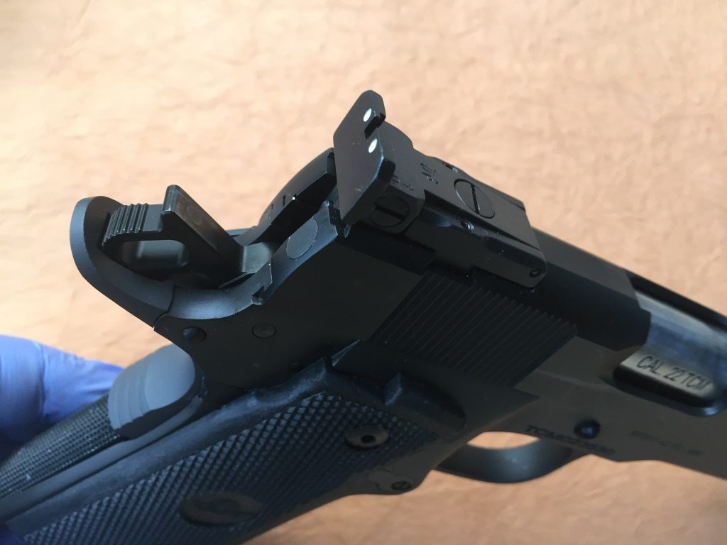 Rock Island TCM Target FS HC 22TCM/9mm Pistol Review