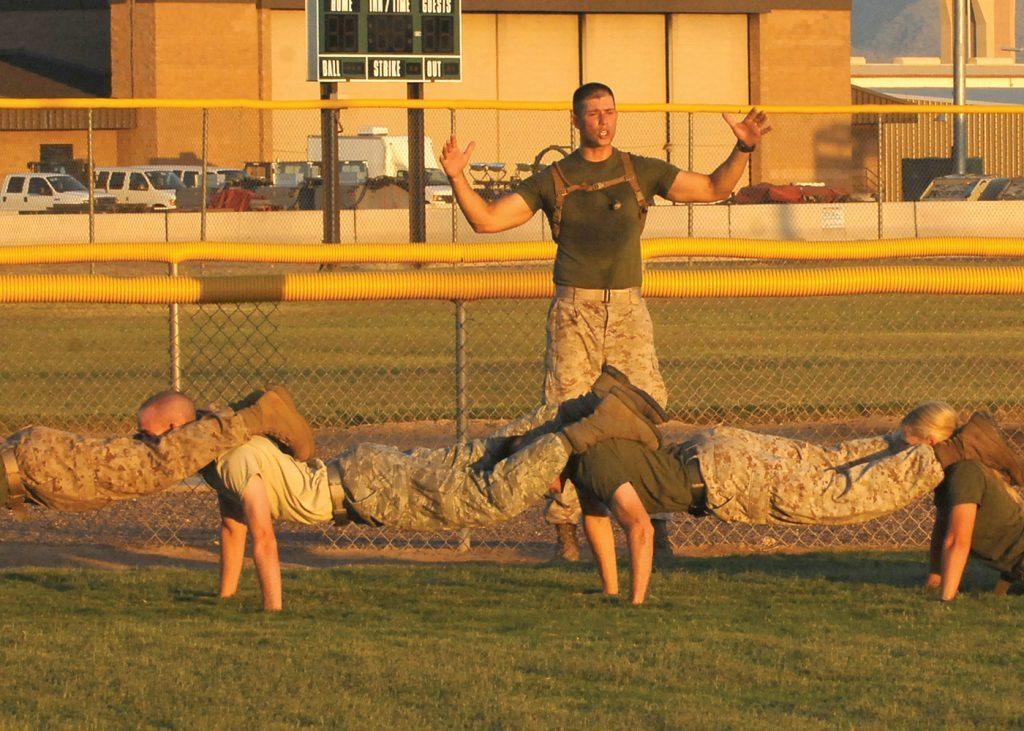 USMC Pushups at Luke AFB