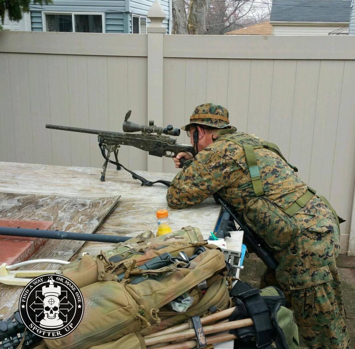 Silynx Swat Sniper 1 Spotter Up