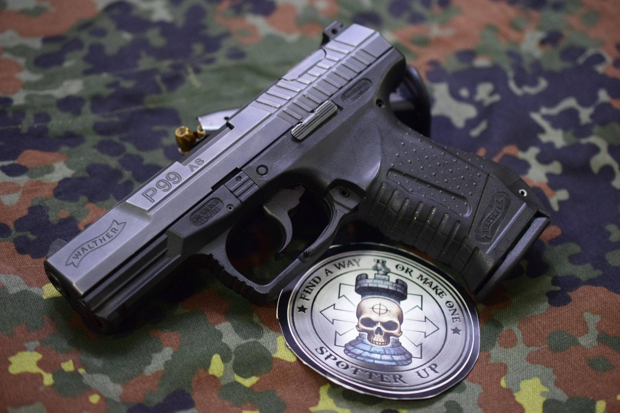Walther P99 4,000 Round Performance – Spotter Up