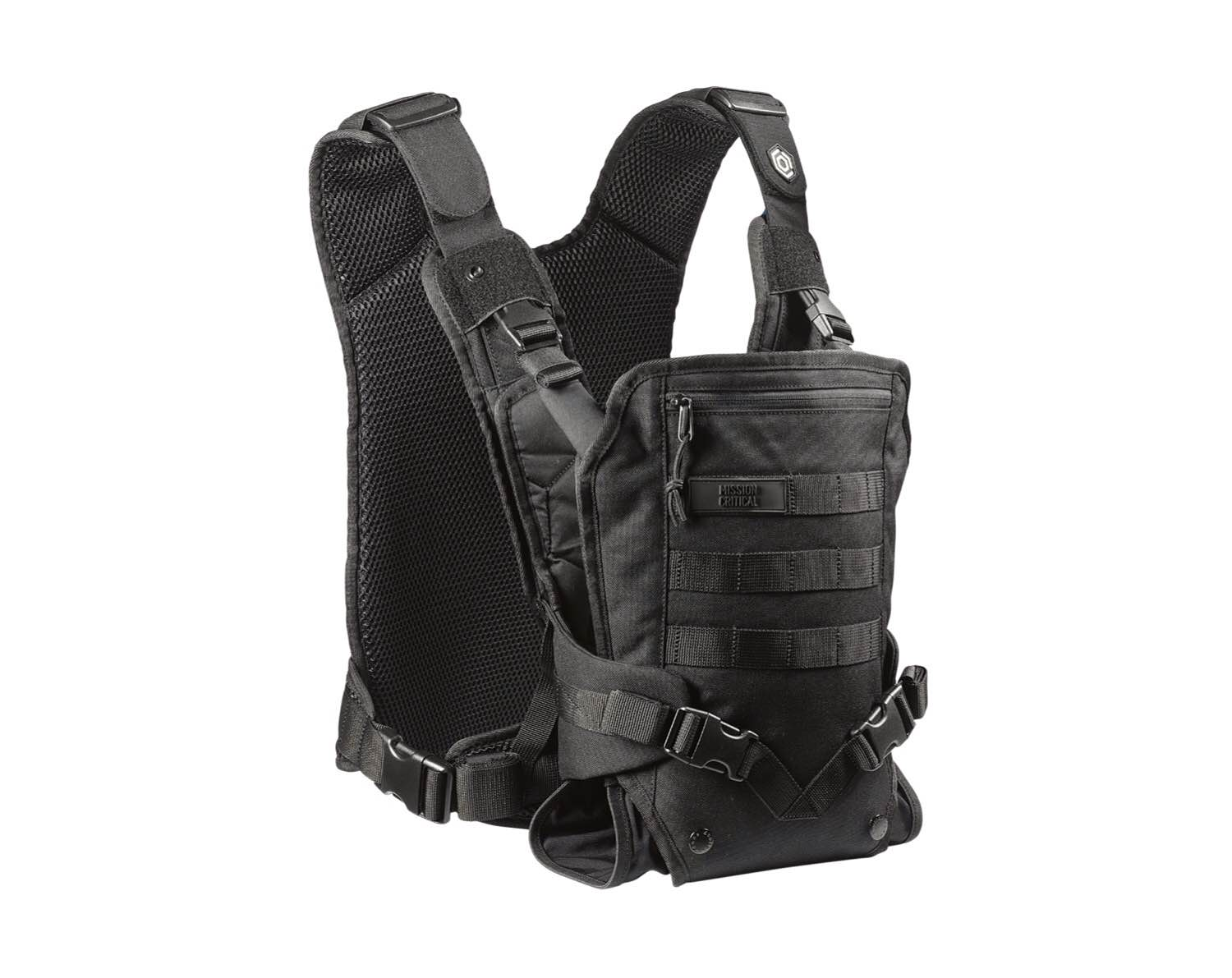 Mission Critical Baby Carrier Spotter Up