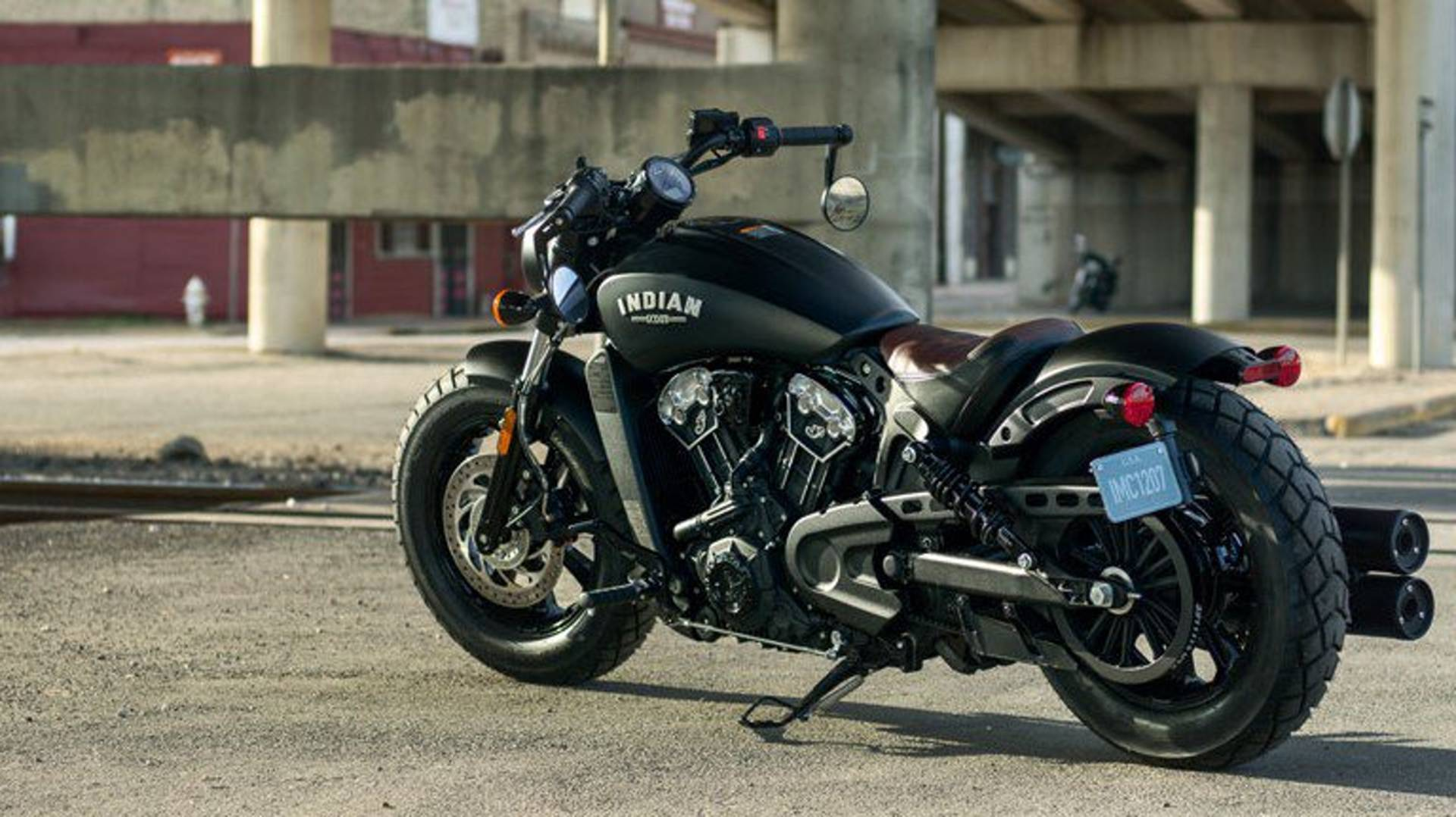 Indian Motorcycle introduces its new Scout Bobber • Spotter Up