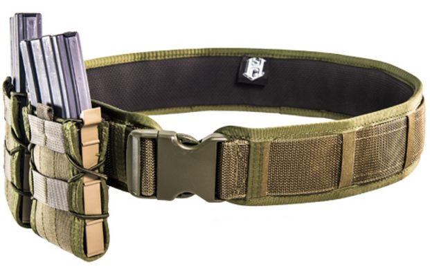 Hsgi duty grip padded belt now available spotter up for Cobra 1 75 rigger belt with interior velcro