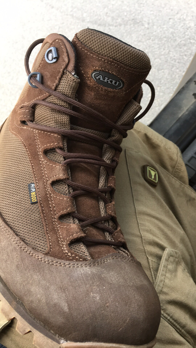 First Impression Product Review – AKU Pilgrim GTX • Spotter Up