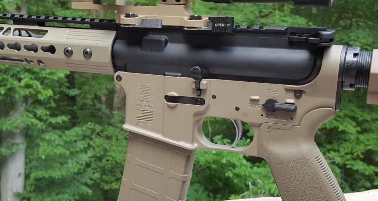FMK AR1 Polymer Lower • Spotter Up