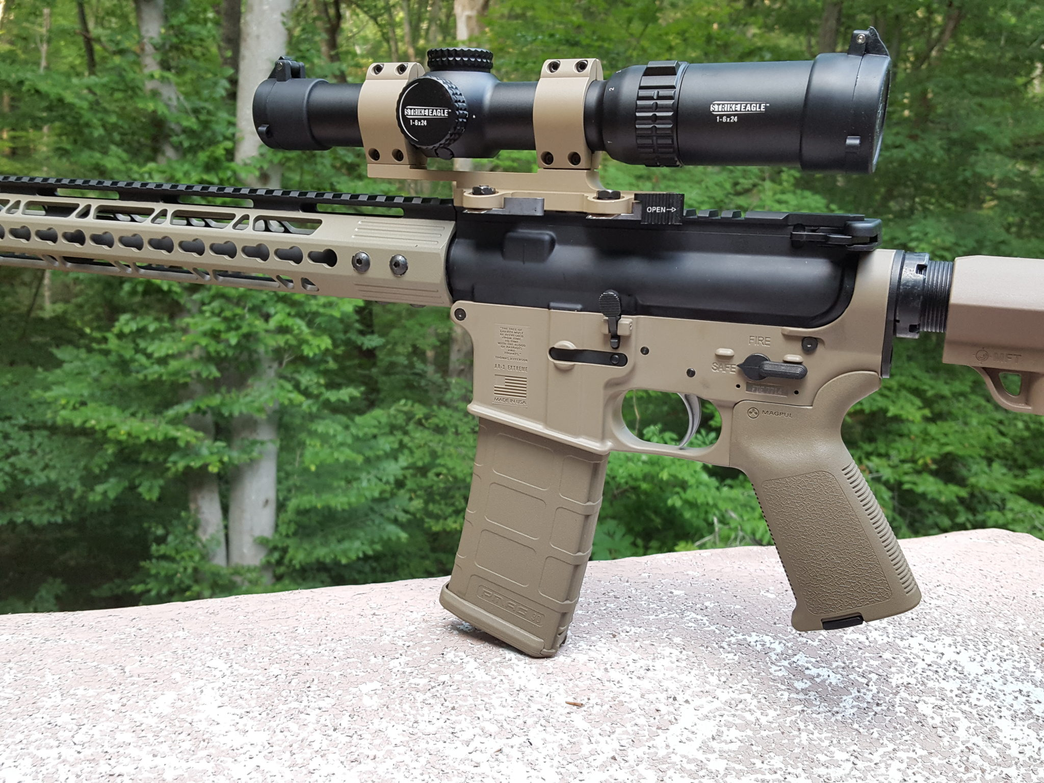 Testing the lightweight FMK AR1 eXtreme AR-15 Lower – Spotter Up