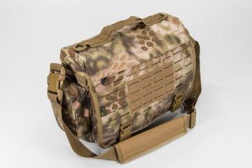 dfe6073dab672 Sword   Plough Green Signature Messenger Bag • Spotter Up