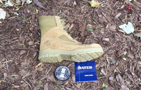 A review of: Men's Bates Lites USMC