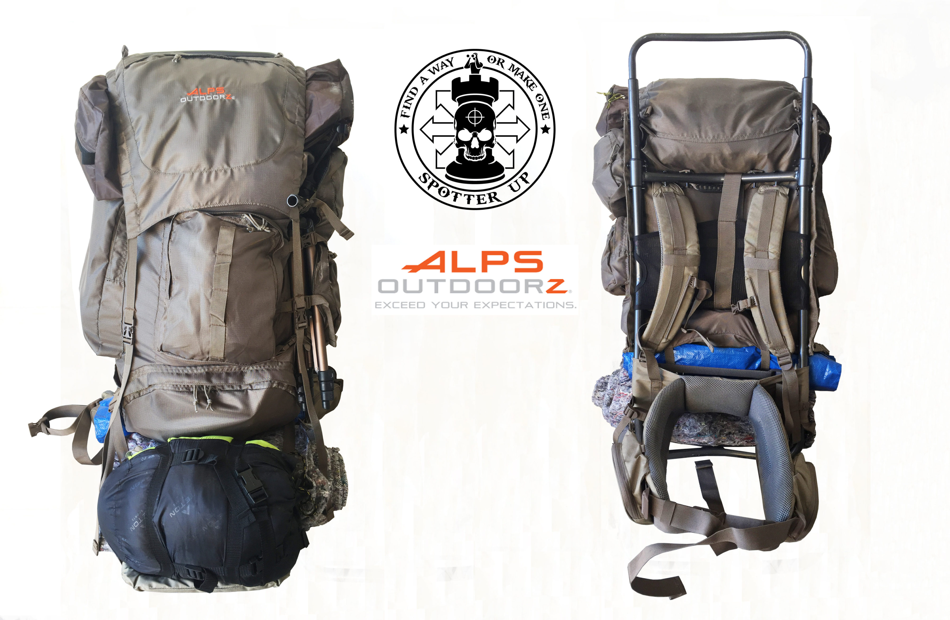ALPS OutdoorZ Commander Frame and Bag Review • Spotter Up