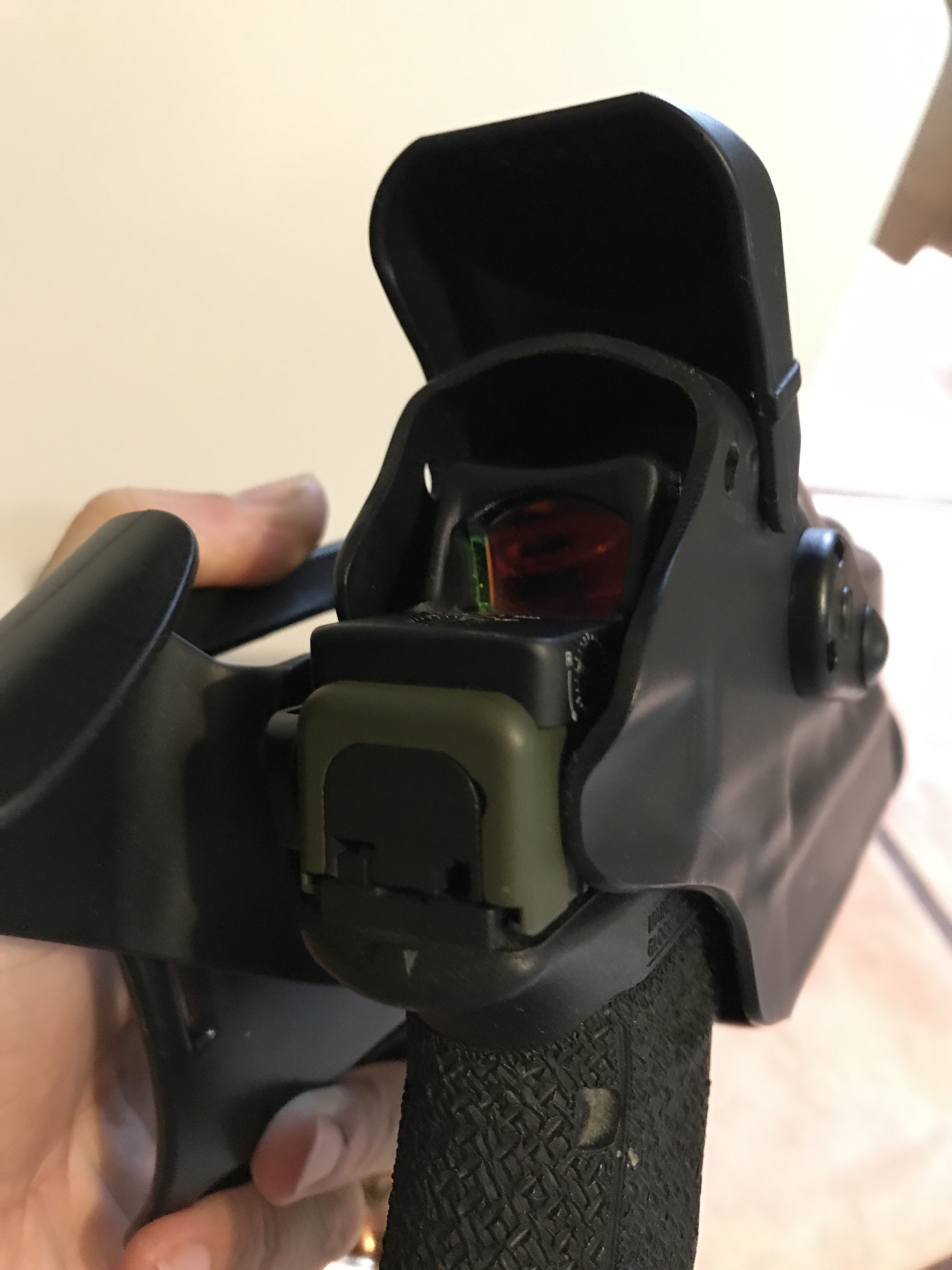 Red Dot Duty Holster from Safariland • Spotter Up