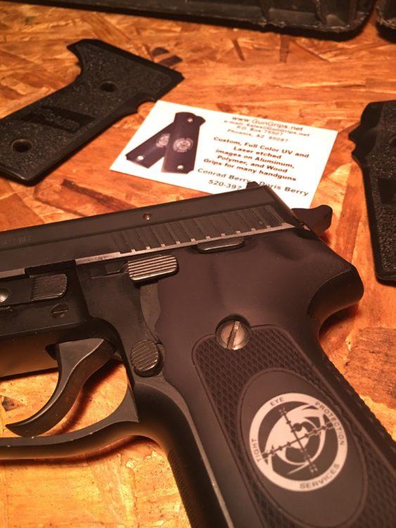 Custom Sig Sauer P229 Grips from GUNGRIPS – Spotter Up