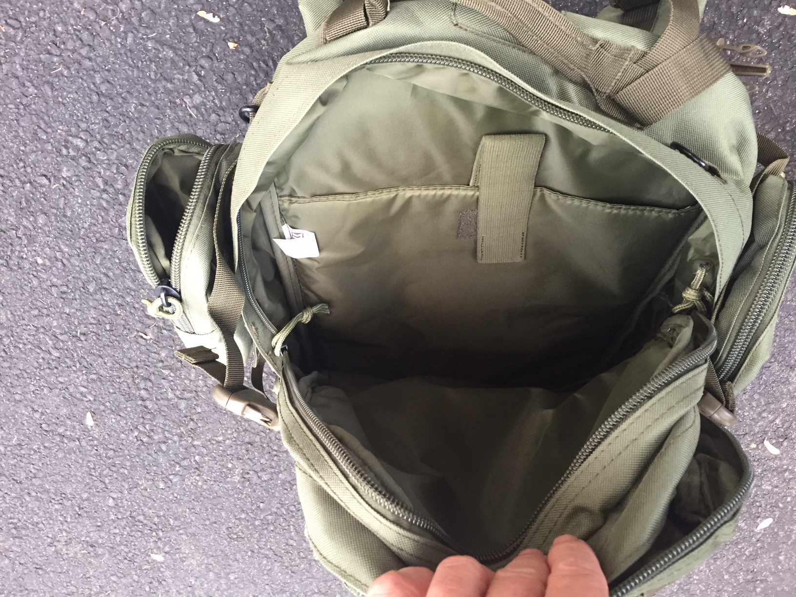 9ca3d618ba17 The Paratus 3 Day Operator s Pack hits the mark with multiple compartments  and a separate Deployment Pack.