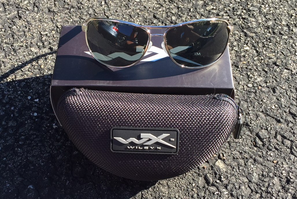 """0b5b5a5f0702 Let me introduce you to the amazing Wiley X Klein Aviator Sunglasses. A  must buy for the """"Gray Man""""."""