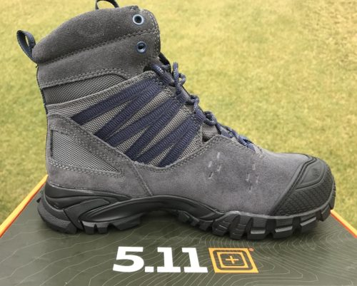 "Side profile of 5.11 Union 6"" Waterproof Boot"