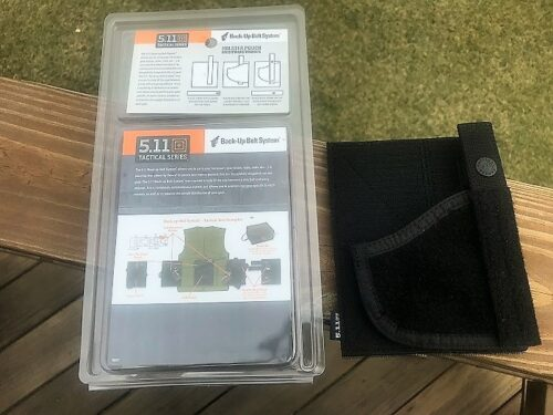 5.11 holster pouch packaging