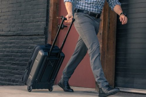511 Tactical Load Up 22 Carry On easy to pull and stable.