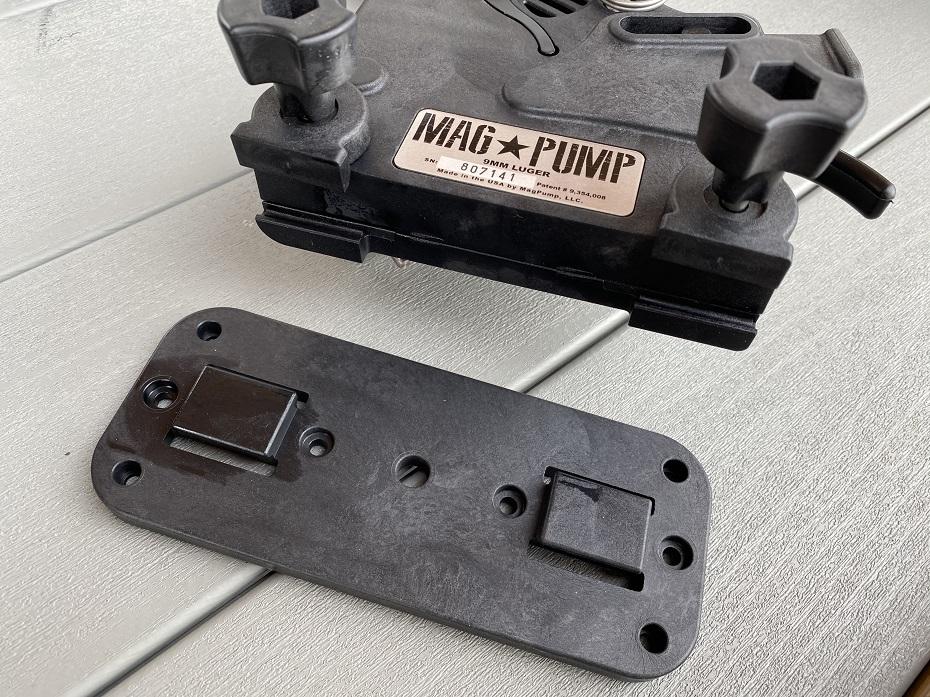 mag pump base plate