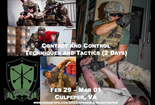 2020 Combatives Training