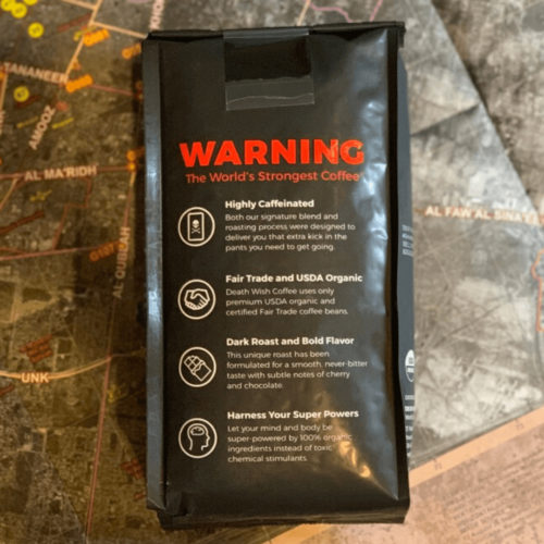 Death Wish Coffee Caffeine 1