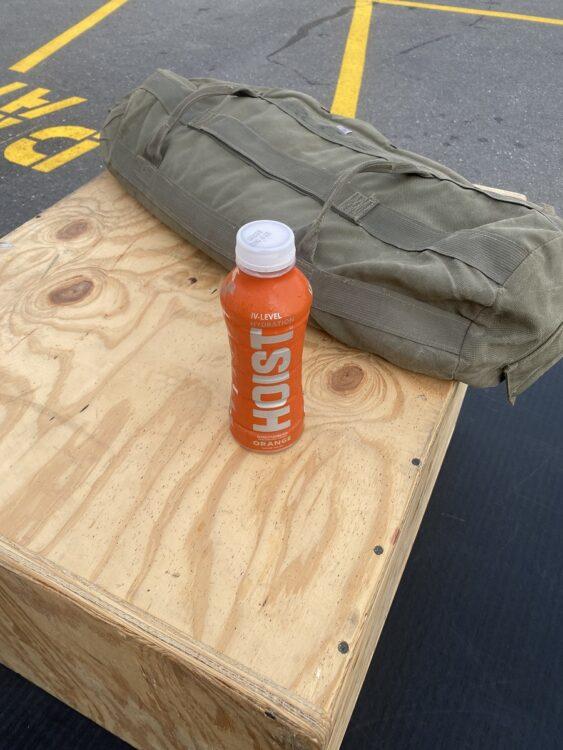 Hoist hydration